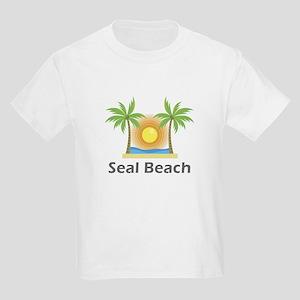Seal Beach Kids Light T-Shirt