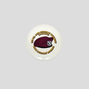 143rd Infantry Regiment Mini Button