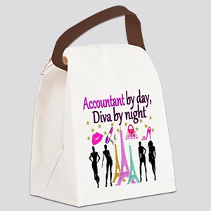 #1 ACCOUNTANT Canvas Lunch Bag