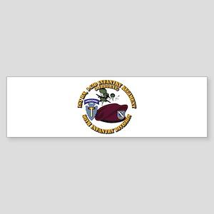 1-143d Inf Regt - 36th Abn Div - Sticker (Bumper)