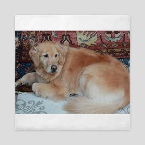 Nala relaxing fluffy tai Queen Duvet