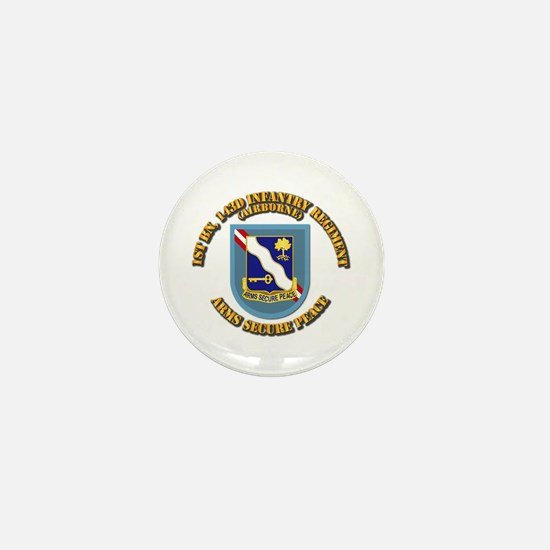Flash - 1st Bn 143rd Infantry Regt - A Mini Button