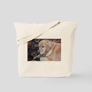 Nala the golden relaxing Tote Bag