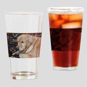 Nala the golden relaxing Drinking Glass
