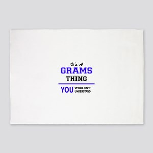 It's GRAMS thing, you wouldn't unde 5'x7'Area Rug