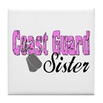 Coast Guard Sister Tile Coaster