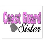 Coast Guard Sister Small Poster