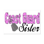 Coast Guard Sister  Mini Poster Print