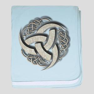 Odin Ancient Symbol baby blanket
