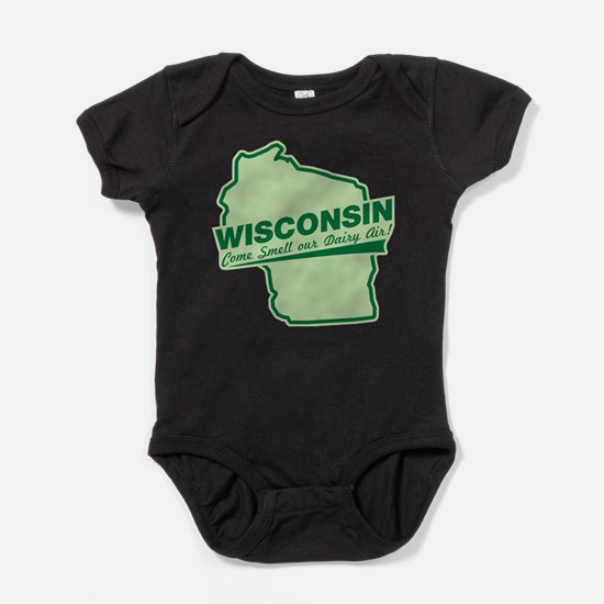 Cute Wisconsin come smell Baby Bodysuit