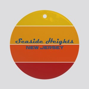 New Jersey - Seaside Heights Round Ornament
