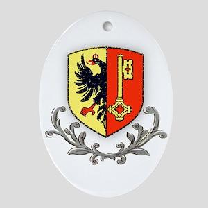 Canton Geneva Oval Ornament