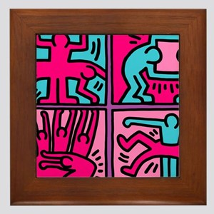 pop art Framed Tile