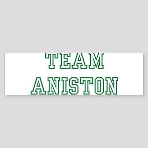 Team ANISTON Bumper Sticker