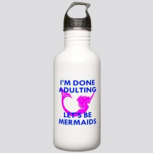 Let's Be Mermaids Stainless Water Bottle 1.0L
