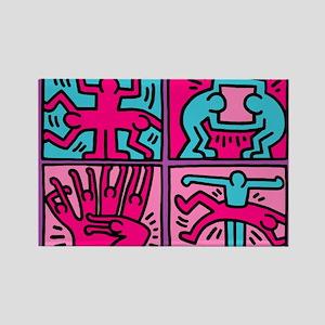 pop art Magnets