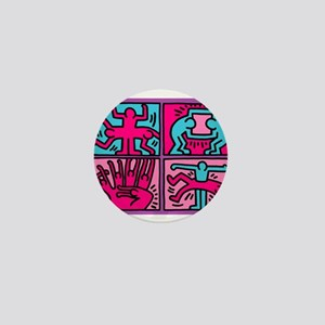pop art Mini Button