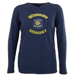 Wiesbaden Warrior +size Plus Size Long Sleeve Tee