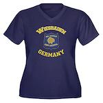 Wiesbaden Warrior Women's +size Plus Size T-Sh