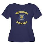 Wiesbaden Women's Scoop Plus Size T-Shirt