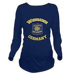 Wiesbaden Warrior Long Sleeve Maternity T-Shirt