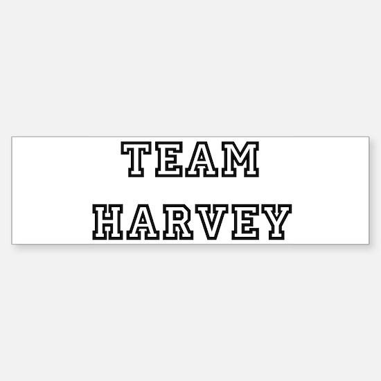 TEAM HARVEY Bumper Bumper Bumper Sticker