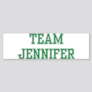 TEAM JENNIFER Bumper Sticker