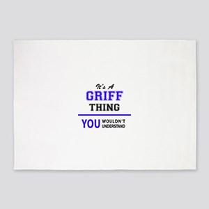 It's GRIFF thing, you wouldn't unde 5'x7'Area Rug