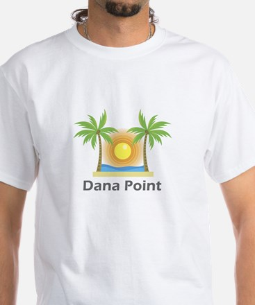 Dana Point White T-Shirt