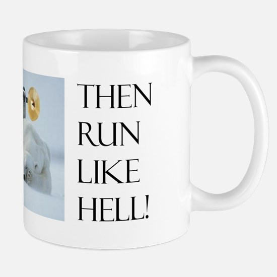 Brave Penguin Coffee Mug