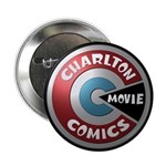 "Charlton Movie 3d Logo 2.25"" Button"