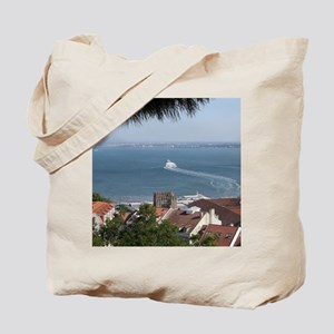 Lisbon View Tote Bag