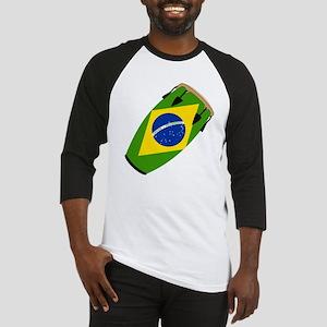 Conga Brazil Flag music Baseball Jersey