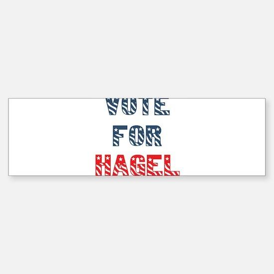 Vote For HAGEL Bumper Bumper Bumper Sticker