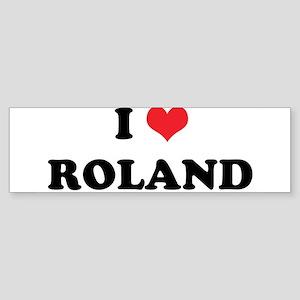 I Heart ROLAND Bumper Sticker