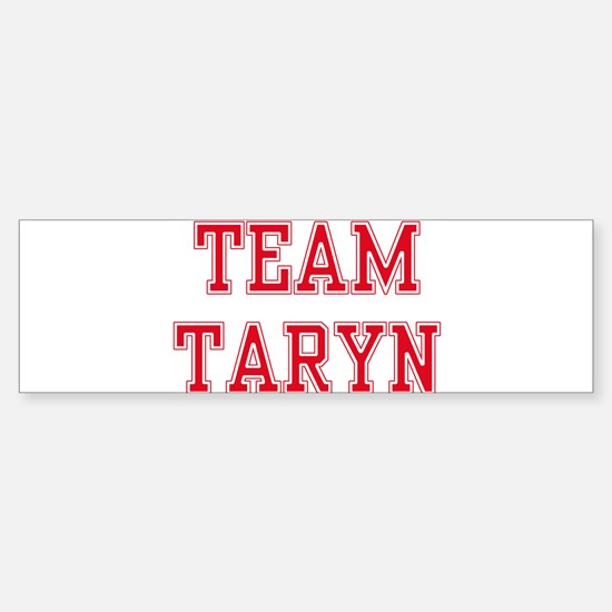 TEAM TARYN Bumper Car Car Sticker