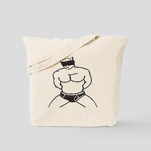 BLINDFOLD SUBMISSION/BLACK Tote Bag