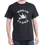 World Peace, Peace and Love. Dark T-Shirt