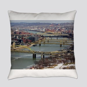 City of Bridges Everyday Pillow