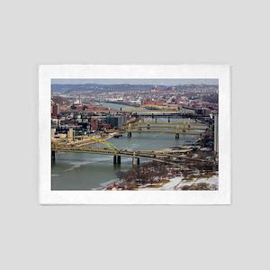 City of Bridges 5'x7'Area Rug
