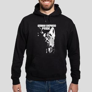 german shepherd pride Hoodie (dark)