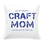 Craft Mom Everyday Pillow