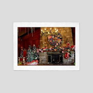 Oglebay Christmas 5'x7'Area Rug