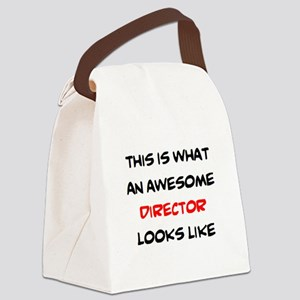 awesome director Canvas Lunch Bag