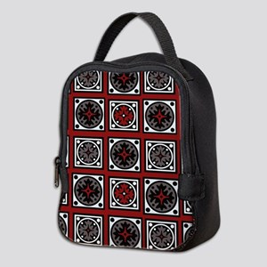 Modern Deco Tiles Neoprene Lunch Bag