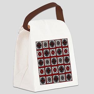 Modern Deco Tiles Canvas Lunch Bag