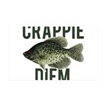 Crappie Diem Wall Decal