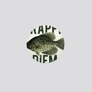 Crappie Diem Mini Button