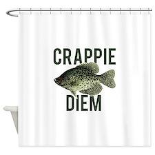 Crappie Diem Shower Curtain