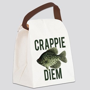 Crappie Diem Canvas Lunch Bag